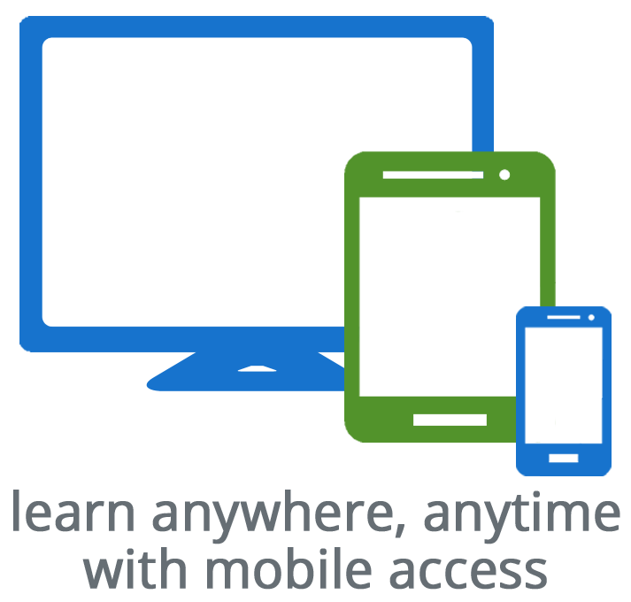 Learn wherever, whenever with mobile access