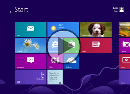 Windows 8 Using XAML, Part 14: Badges and Secondary Tiles