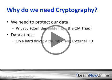 CASP, Part 1: Cryptography