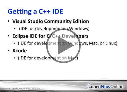 C++ 11, Part 1: Getting Started Trailer
