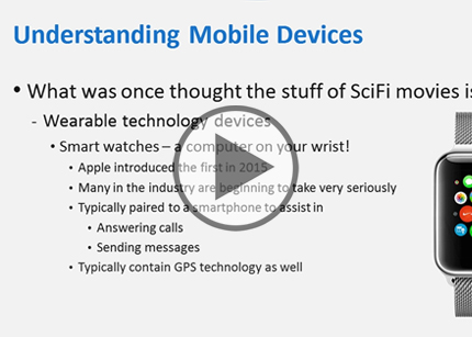 CompTIA A+ Cert, Part 11: Working with Mobile Devices Trailer