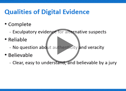 Forensic Investigator, Part 1: Computer Forensic Basics Trailer