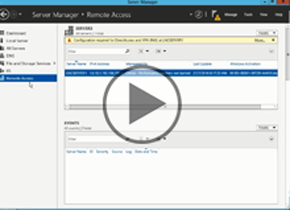 Windows Server 2012 Admin, Part 5: Managing Remote Access