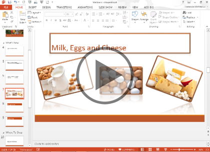 Microsoft PowerPoint 2013, Part 2: PowerPoint Basics