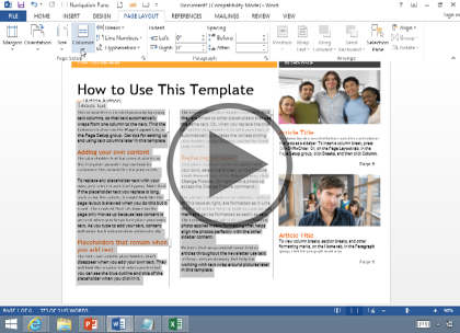 Microsoft Word 2016, Part 4: Labels, Page Layout and Printing