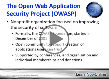 OWASP, Part 3: Threats and Session Security