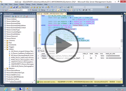 SQL 2014 Admin, Part 4: Server Optimization Trailer