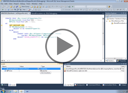 SQL 2012 Developer, Part 02: Stored Procedures Trailer