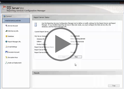 SSRS 2012, Part 01: Introduction and Report Builder Trailer