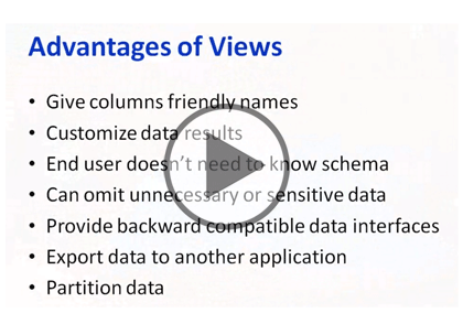 SQL 2014 Developer, Part 01: Views Trailer