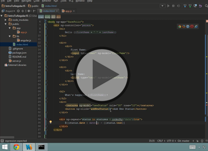AngularJS, Part 1: Getting Started Trailer