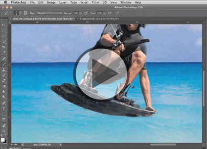 Photoshop CS6, Part 09: Smart Filters, Size & Text Trailer