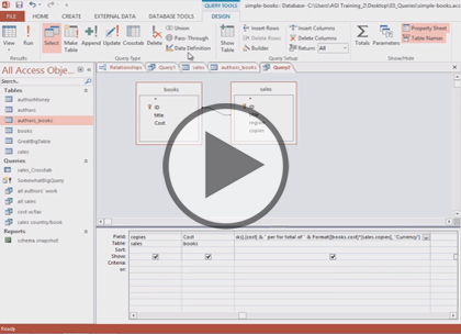 Access 2013, Part 7: Forms and Reports Trailer