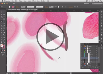 Illustrator CC In-Depth, Part 4: Actions & Layers Trailer