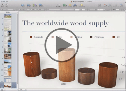 Apple Keynote, Part 4: Import, Presenting & Export Trailer