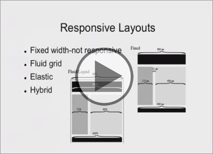 Responsive Websites, Part 2: Page Layout Trailer