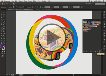 Illustrator CC, Part 3: Gradients and Patterns