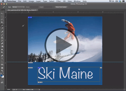 Web Graphics using PS CC, Part 2: GIF, PNG & Slice