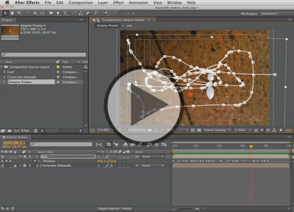 After Effects CS6, Part 2: Masks, Mattes, & Audio Trailer