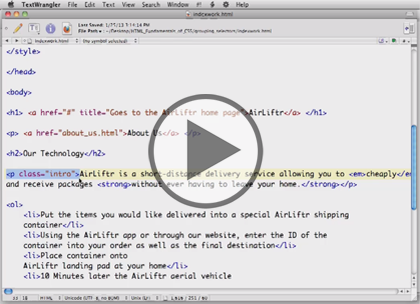 HTML/CSS for Designers, Part 3: Images Trailer
