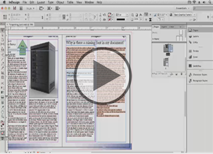InDesign CS6, Part 10: Digital Books and Tools  Trailer