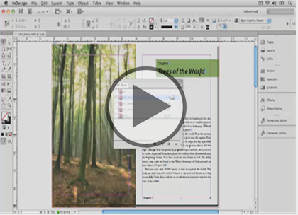 InDesign CS6, Part 06: Tables and Graphics