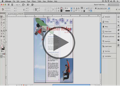 InDesign CS6, Part 08:  Documents and Publishing Trailer