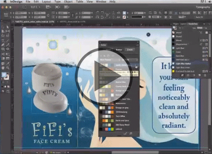 InDesign CC, Part 6: Printing and PDF and SWF Trailer