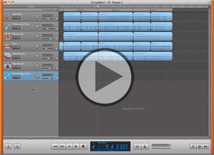 Apple iLife, Part 3: GarageBand Trailer
