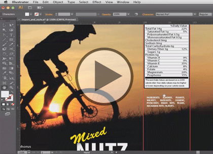Illustrator CS6, Part 2: Panels and Transformation Trailer