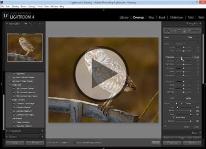 Lightroom 4, Part 4: Edit, Exporting & Publishing