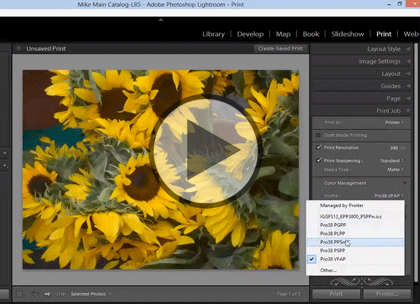 Lightroom 5 Advanced, Part 2: Format and Color