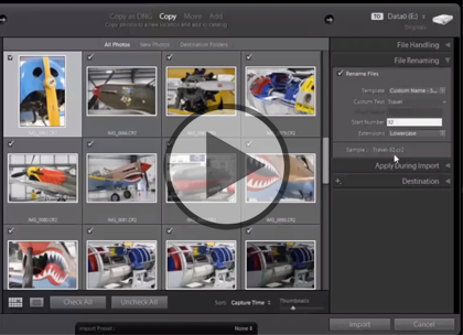 Lightroom 5, Part 4: Collections, Video & Backups