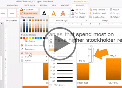 PowerPoint 2013, Part 2: Charts, Formats & Shapes Trailer