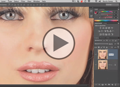 Photo Retouching with PS, Part 4: Mouths & Body