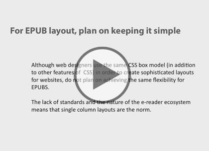 ePub Styling Essentials, Part 3: Adding Media Trailer