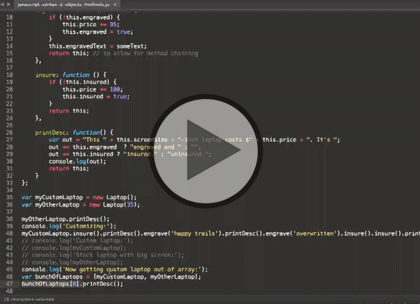 jQuery for Designers, Part 4: Events Trailer