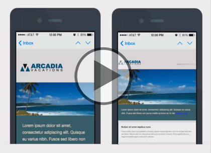 Responsive HTML Email, Part 1: Design Trailer