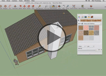 SketchUp 2013, Part 2: Landscaping and Floor Plans Trailer