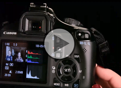 DSLR Basics with Bob Davis, Part 3: Manual Shoot Trailer