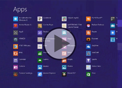 UX Design for Win 8 Apps, Part 1: UI & Planning Trailer