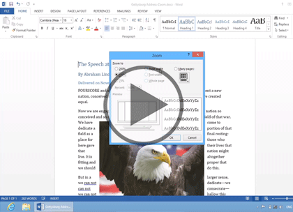 Word 2013, Part 4: Formatting Pages Trailer