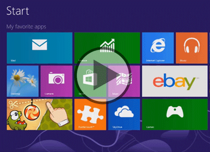 Using Windows 8: Desktop and Tablet Trailer